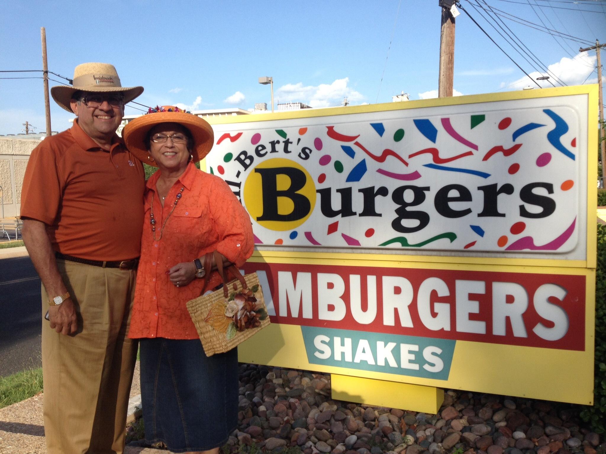 Hill-Bert's Delivers Hamburgers, Austin, Texas